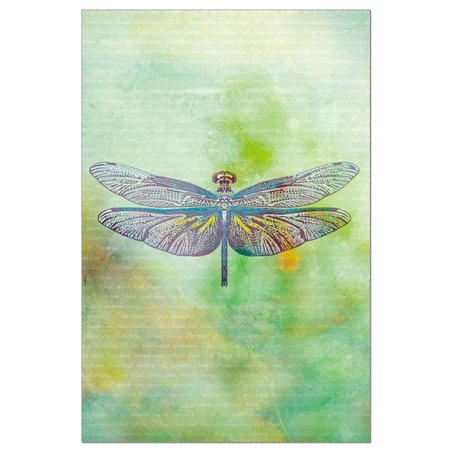 - Tree-Free Greetings Vibrant Dragonfly Boxed ECO Notes Blank Note Cards-FS56701