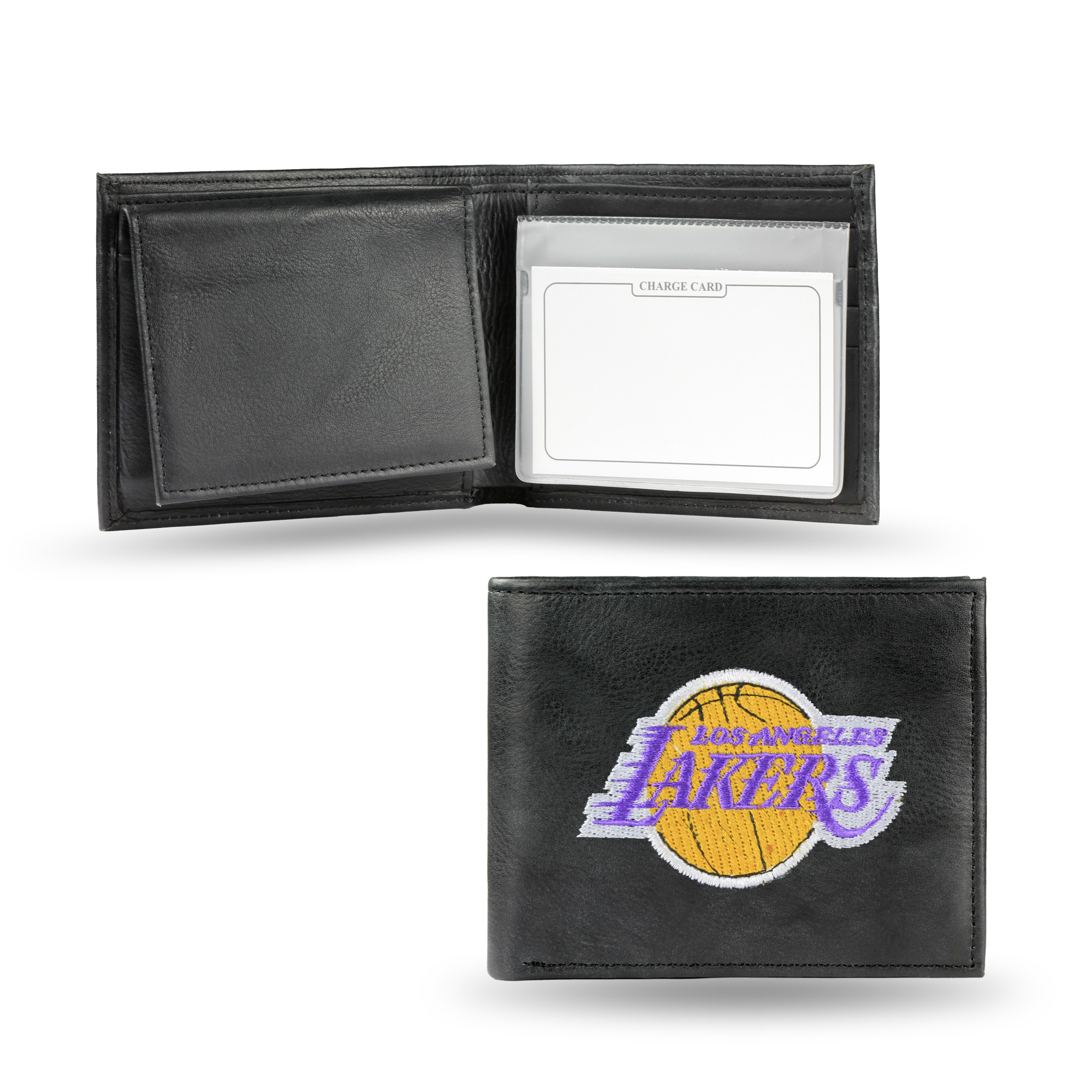 NBA - Men's Los Angeles Lakers Embroidered Billfold Wallet