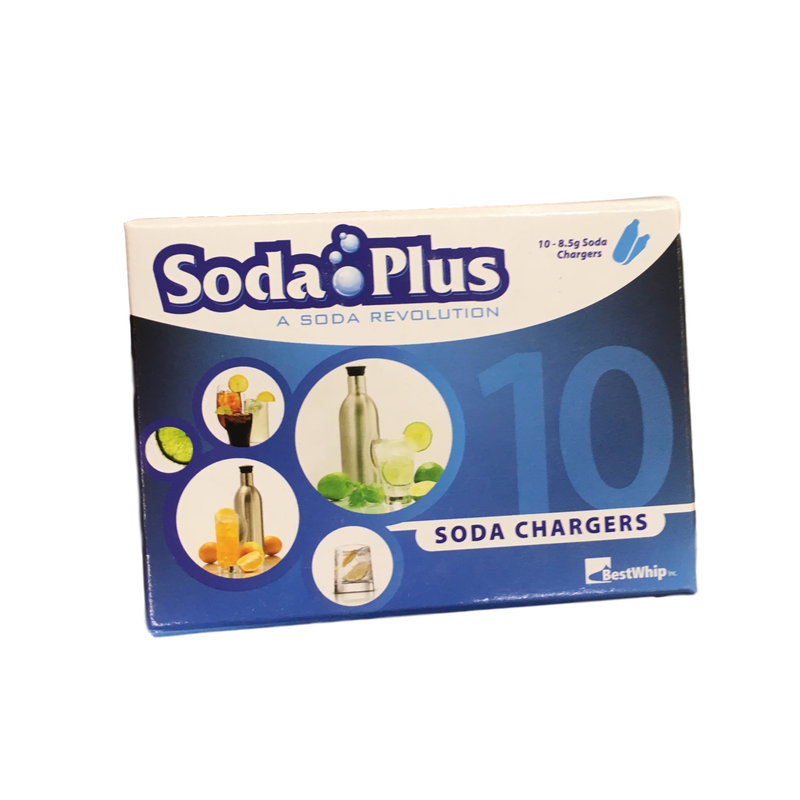 Soda Plus CO2 Charger, 50 Count