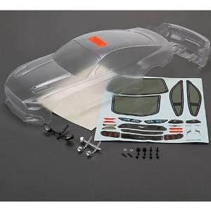 Vaterra VTR230039 2015 Ford Mustang Body Set Unpainted