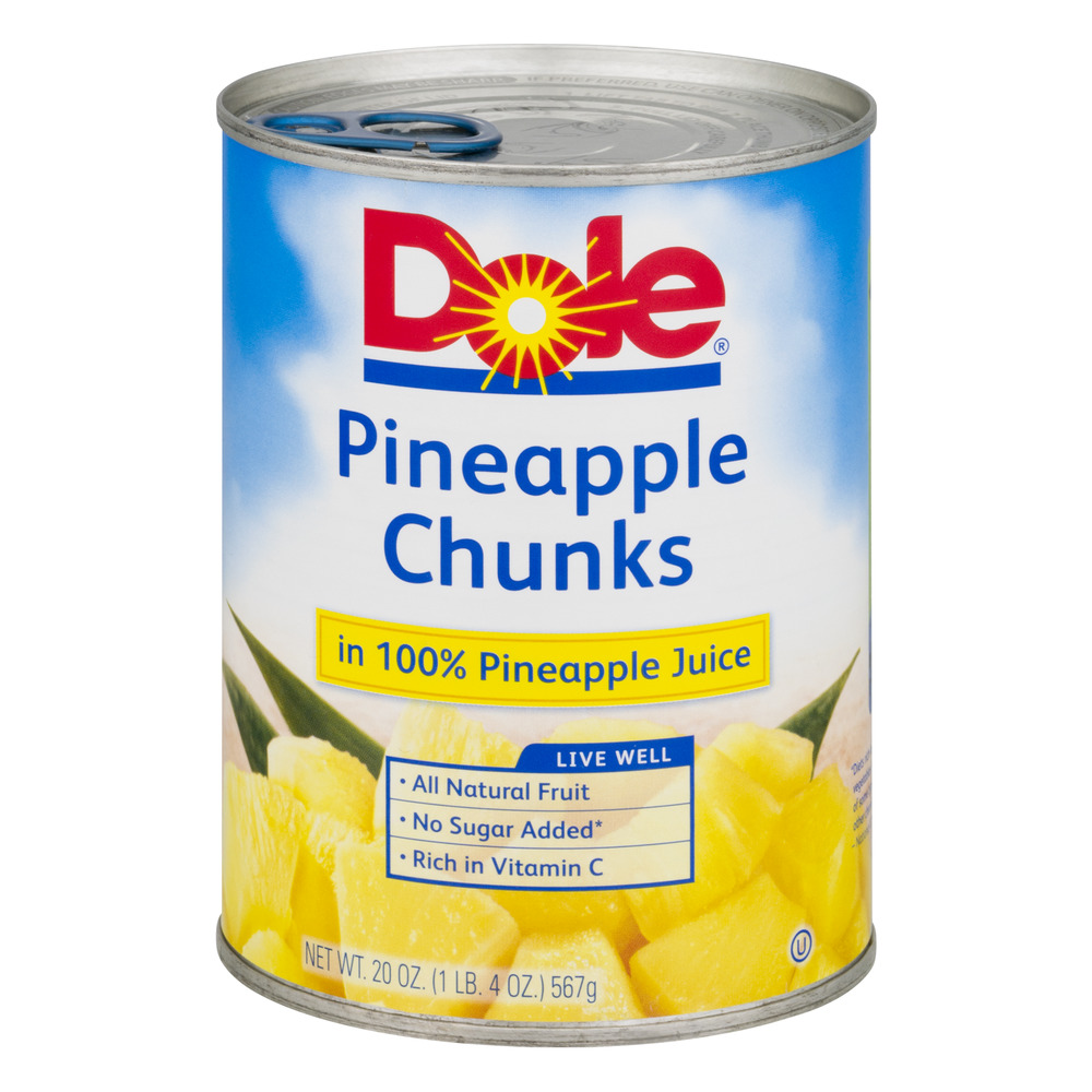 Dole Pineapple Chunks, 20.0 OZ