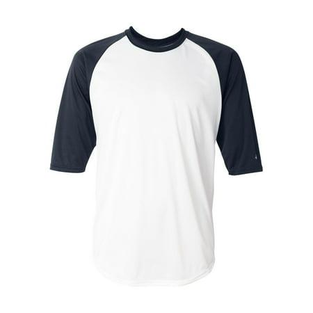 - Adult Performance 3/4 Sleeve Raglan-Sleeve Baseball Undershirt 4133