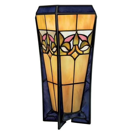 Aztec Lighting Tiffany Style Bronze Table Lamp