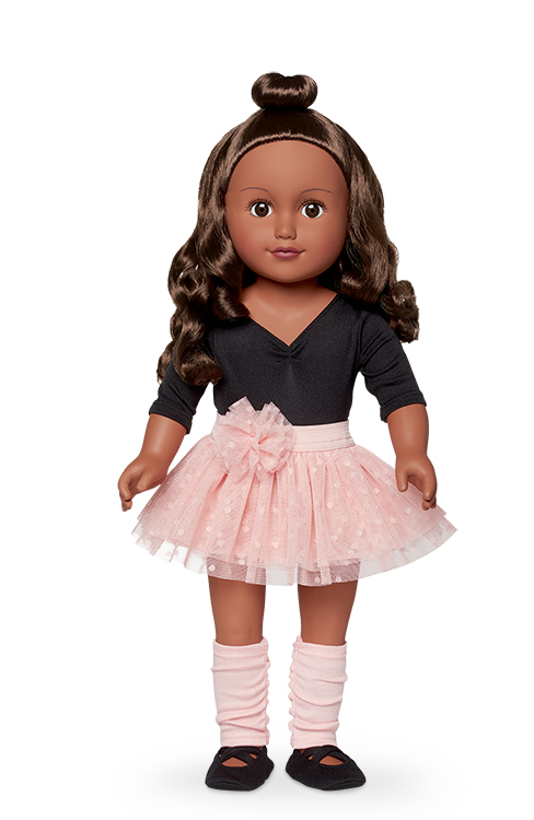 My Life As 18-inch Ballerina Doll, African-American by HONG KONG CITY TOYS FACTORY LIMITED