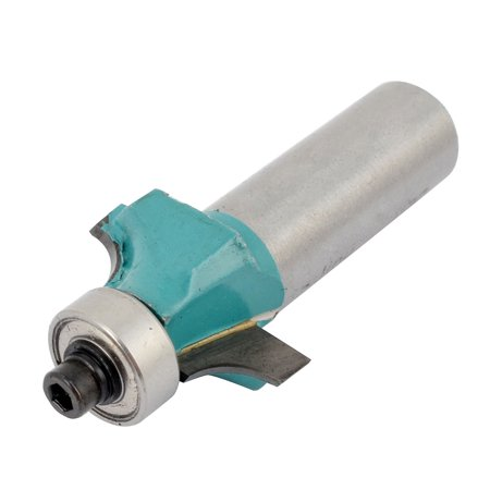 """Unique Bargains 2.09"""" Long End Bearing Corner Roundover Router Bit Tool Replacement 1/2"""" x 1/2"""" - image 2 of 2"""