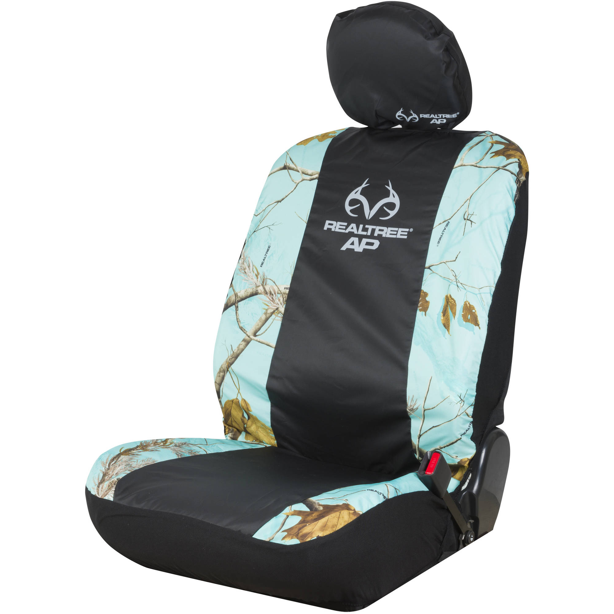 Realtree APC Mint Camo Low Back Seat Cover