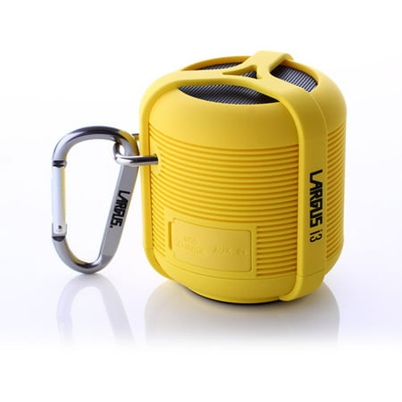Largus i3 Bluetooth Wireless Speaker, Yellow