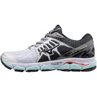 Mizuno Wave Horizon Womens Running Shoes (White/Black)