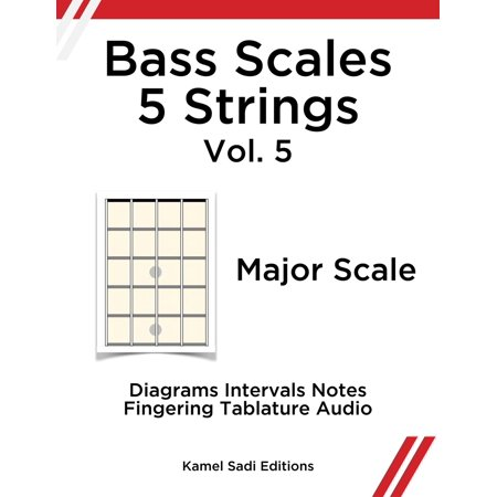 Bass Scales 5 Strings Vol. 5 - eBook (5 String 34 Scale)