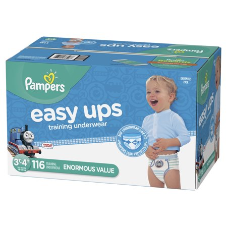 - Pampers Easy Ups Training Underwear Boys (Choose Size and Count)