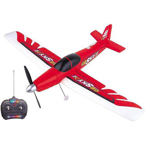 Golden Bright Radio Control Sky 1 Airplane, Red