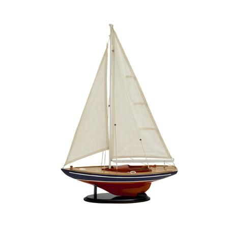Large Sailing Ship (Attractive Miniature Wood Sailing Ship )