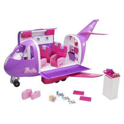 Mattel Purple Barbie Glamour Jet - Huge Collectible Play Set