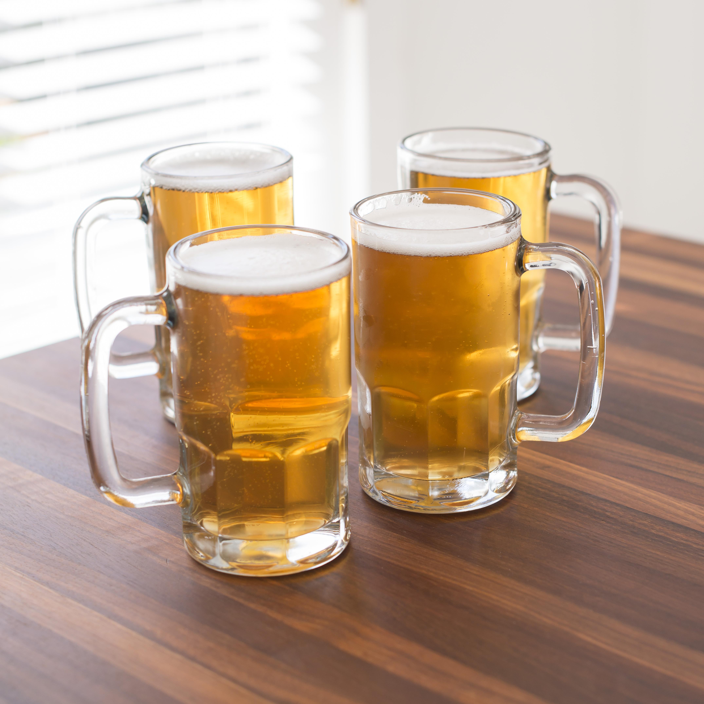 Anchor Hocking 4-Piece Tall Beer Mug Set