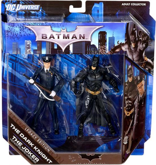Batman The Dark Knight and Joker Legacy Figures