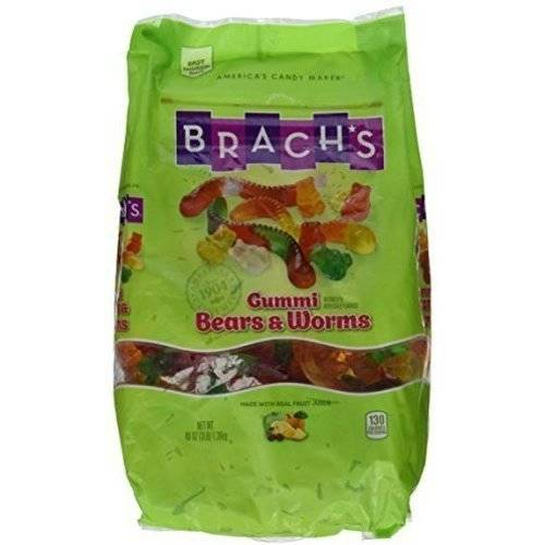 Brach's Wild N' Fruity Gummi Bears & Worms, 48 oz