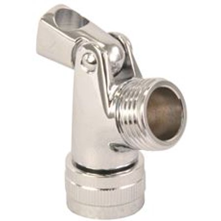 (SWIVEL CONNECTOR SOLID BRASS CHROME)