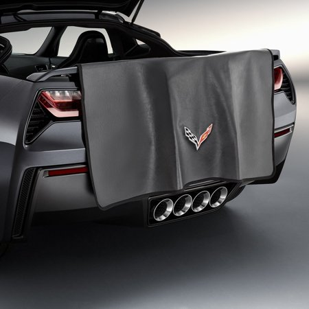 Corvette C7 Stingray Rear Fasia Bumper Protector Mat OEM GM - Corvette Stingray Emblem