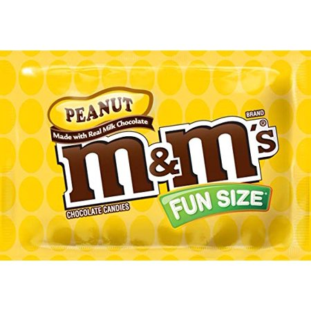 M&M's Peanut Chocolate, Classic Candy (23 lbs) Bulk of Fun Size Snacks in a Box. Perfect for a Party, Buffet, Pinata, Halloween or Valentine Day Gift - Valentines Pinata
