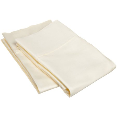 400 Tc 100% Cotton Pillowcases (Superior 400 Thread Count 100% Premium Combed Cotton Solid Pillowcase Set)