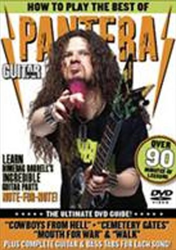 Alfred Guitar World: How To Play the Best of Pantera (DVD) by Alfred