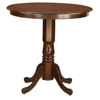 East West Furniture Jackson Pedestal 36 Inch Round Counter Height Dining Table