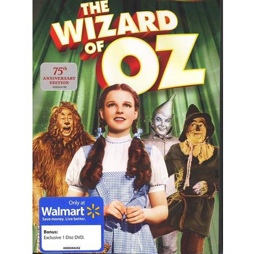The Wizard Of Oz: 75th Anniversary (Walmart Exclusive) (With INSTAWATCH)