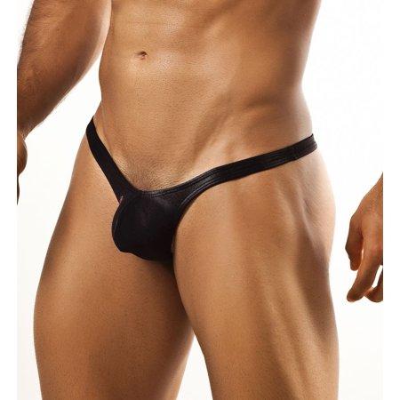 Men's Joe Snyder JSBUL02 Bulge Low Rise Push Up Enhancing Thong (Thong With Pouch For Men)