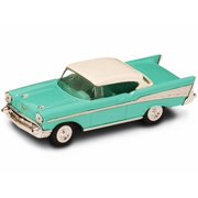 1957 Chevrolet Bel Air, Turquoise - Yatming 94201 - 1/43 Scale Diecast Model Toy Car