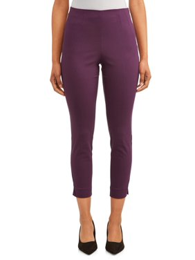 Time and Tru Women's Millennium Side-Zip Pant