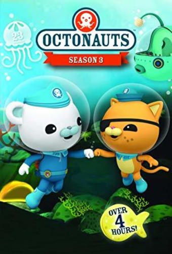 Octonauts Backpack Bag with Drink Bottle Holder Pouch Captain Barnacles