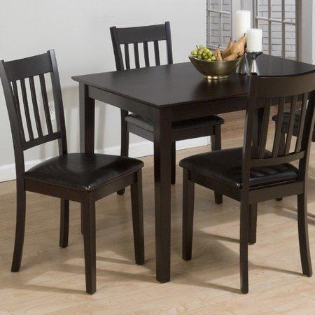 Jofran Marin Country Merlot 5 Piece Dining Table Set - Walmart.com