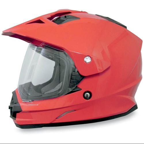 Smoke New AFX FX-37DS Dual Sport Anti-Scratch Helmet Shield//Visor