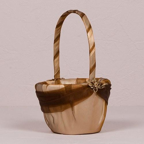 Weddingstar 6135 Bronze Elegance Flower Girl Basket