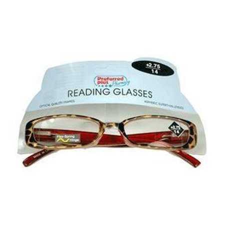 Reading Glasses 2.75 Power By Kpp Frame Size: Rr976, 1 Ea