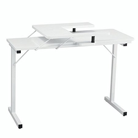 Horn Of America 40 Sewing Machine Table In All White Walmart Amazing Horn Sewing Machine Table
