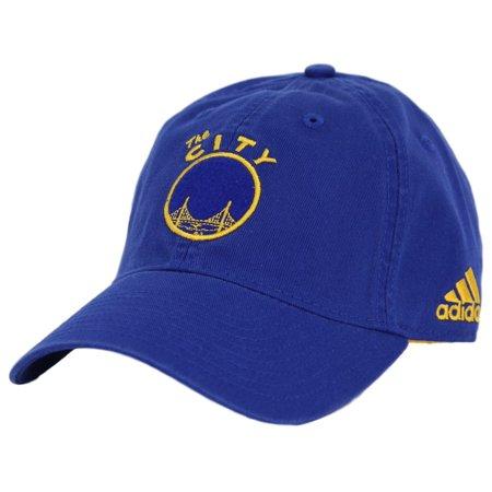San Francisco Warriors Adidas NBA Hardware Classics Slouch Adjustable Hat