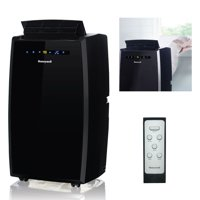 Honeywell MN10CESBB 10,000 BTU 115V Portable Air Conditioner for Rooms Up To 450 Sq. Ft. with Dehumidifier & Fan, Black