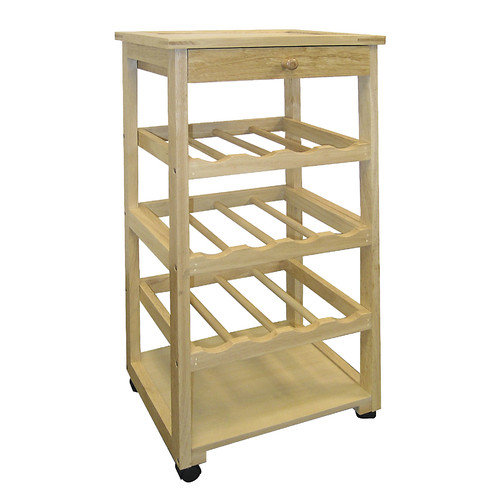 ORE Furniture 12 Bottle Floor Wine Rack