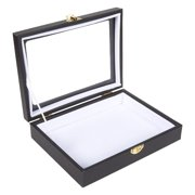 Insect Display Case, Bug Display Box with Glass Window and Secure for Insect Collecting, 8 x 6 in.