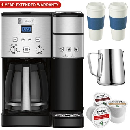Imari Coffee Pot (Cuisinart SS-15 12-Cup Coffee Maker and Single-Serve Brewer, Stainless w/K Cups, Carafe, To Go Cups and Extended)