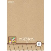 "Colorbok 8.5"" Craft Smith Cardstock Pad, 50 Piece"