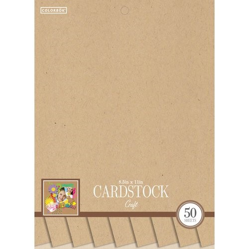 "Colorbok 8.5"" Smith Cardstock Pad, Craft"
