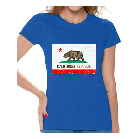 Awkward Styles California Republic Flag Tshirt California Flag Shirt California Shirts for Women California Bear T Shirt Cali Tshirts Gifts from California Cali Gifts for Her