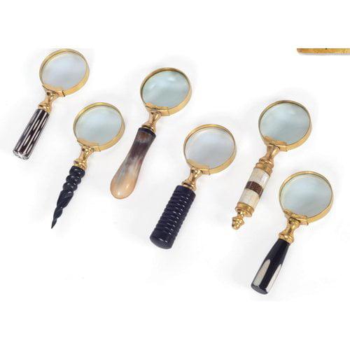 World Menagerie Gold Brass Liberty Magnifier