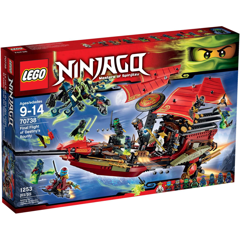 Lego Ninjago Final Flight of Destiny's Bounty, 70738 by LEGO Systems, Inc.