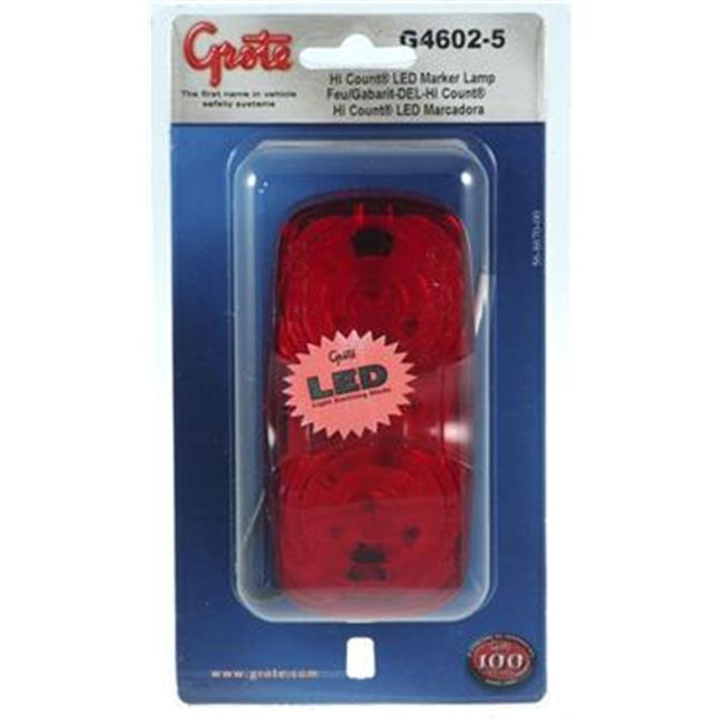 GROTE PERLUX G46025 Side Marker Light - LED Universal Surface Mount