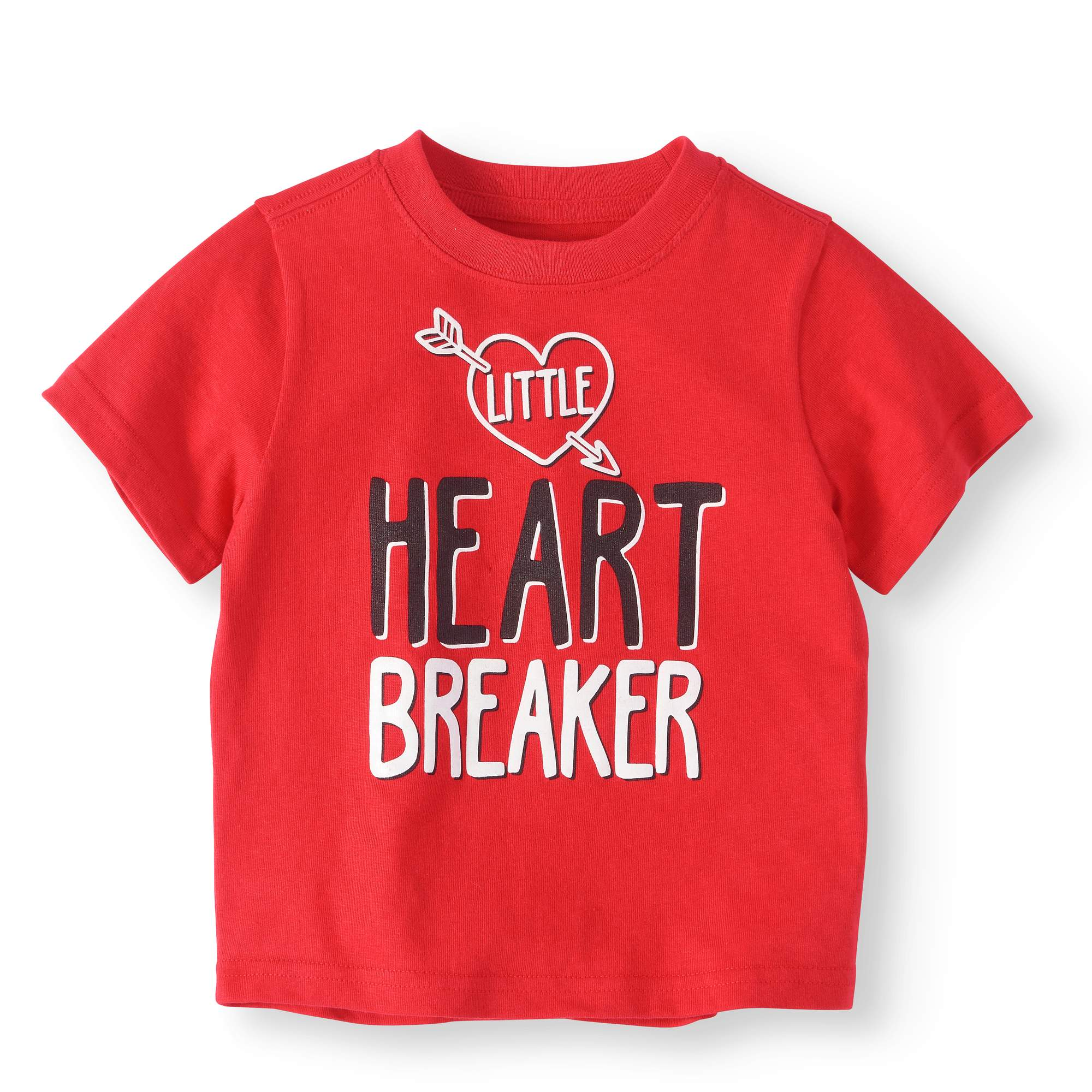 Unique Baby Boys Valentines Day Wavy Hearts Polo Shirt