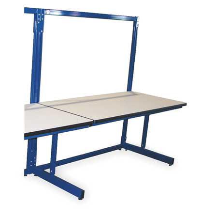 PRO-LINE B6030SAC Ergo Basics Workbench, Blu, 60Lx30Wx65HIn.