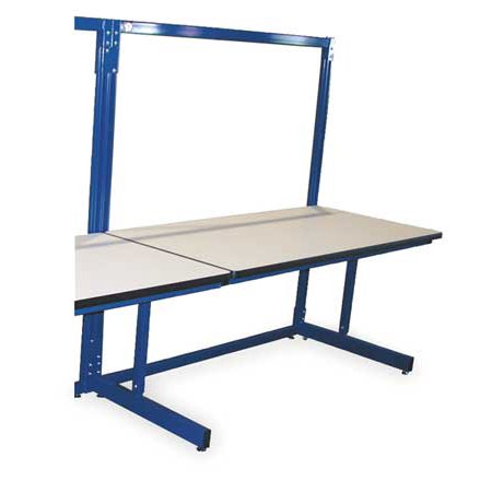 Awesome Pro Line B6030Sac Ergo Basics Workbench Blu 60Lx30Wx65Hin Gmtry Best Dining Table And Chair Ideas Images Gmtryco